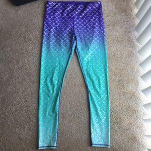 Disney mermaid tights